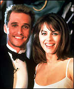 [ image: Matthew McConaughey and Liz Hurley in EdTV]