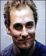 [ image: McConaughey's police booking photo]