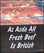 British beef in Asda