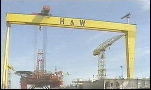 Belfast shipyard Harland & Wollf needs new orders