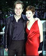 [ image: Anna Friel and Ewan McGregor starred in Rogue Trader]
