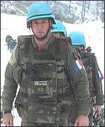 French legionaires in Bosnia