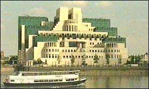 image: [ The MI6 building in London: the secret service will help tackle fraud ]