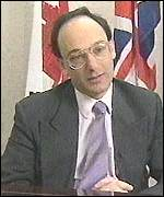 [ image: Gibraltar's chief minister Peter Caruana:
