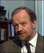 [ image: Foreign Secretary Robin Cook announced the review after Montserrat's volcano erupted]