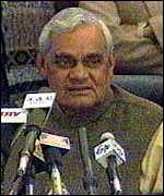 [ image: BJP Prime Ministerial Candidate Atal Bihari Vajpayee: previously expressed regret]