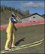 [ image: Eddie the Eagle enlivened the 1986 games with his bad jumping!]