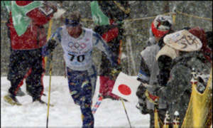 BBC News   Cross Country Skiing   Finn takes gold in 30km cross-country