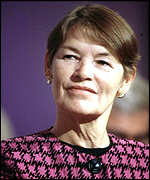 [ image: Glenda Jackson: Insists voters must have a woman candidate]