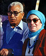 [ image: Abdou Elzanaty and his wife Fawkia Abed Raboh Elzanaty]