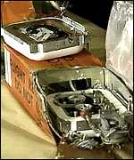 The data recorder from the 1996 TWA 800 disaster