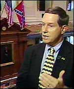 [ image: South Carolina Senator Joe Wilson says the flag represents pride not racism]