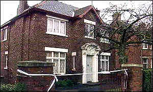 Belfast home of solicitor Pat Finucane where he was killed by loyallists