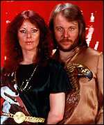 [ image: Frida with her former husband Benny in their Abba heyday]