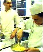 [ image: The university has a number of well-established cookery courses]