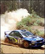 [ image: This was Burns fourth world rally victory]