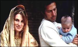 Jemima, Imran and Suleyman Khan