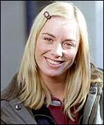 [ image: EastEnders star Tamzin Outhwaite: Up against the football next week]
