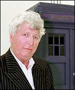 [ image: Fourth Doctor Tom Baker is presenting a BBC theme night]