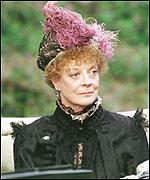 [ image: Dame Maggie Smith plays Queen Alexandra in an all-star cast]
