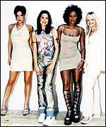 [ image: Thrice Spice: Spice Girls have taken the last three festive no.1's]
