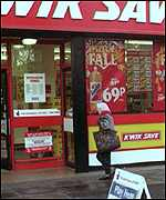 [ image: Troubles have escalated since Somerfield bought Kwik Save]