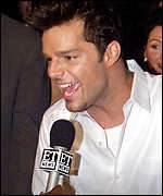 [ image: Ricky Martin: Latino superstar nominated twice]