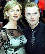 [ image: Host and nominee: Boyzone's Ronan Keating, with his wife Yvonne]