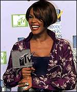 [ image: Whitney Houston scooped Best R&B act]
