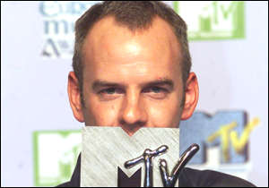 [ image: Norman Cook, aka Fatboy Slim, is speechless after winning the Best Dance category award]