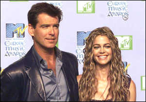 [ image: Pierce Brosnan - aka 007 - with one of the newest crop of Bond girls, Denise Richards]