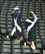 [ image: Sad Scots fans hope that Wednesday will be a different story]