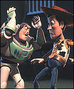 [ image: The Toys are back in town: Woody and Buzz Lightyear]
