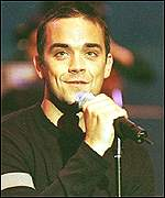 [ image: Robbie Williams: man of the millennium or just the moment]