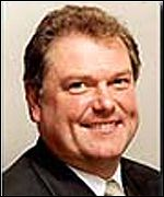 [ image: Digby Jones takes up the post on 1/01/00]