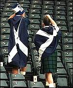 [ image: Scotland's fans will be praying for an early goal]