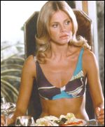 [ image: Britt Ekland  loved every minute of her time as Mary Goodnight]