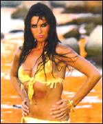 [ image: Caroline Munro  on location in Sardinia for The Spy Who Loved me]