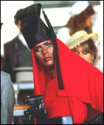 [ image: Grace Jones set Roger Moore's pulse racing in A View To A Kill]
