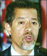 [ image: Sir Herman Ouseley: Critical of the home secretary]