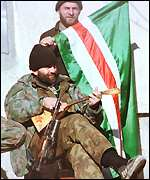 [ image: Terrorists? Government has been determined to crush Chechen opinion]