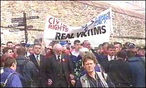 Victims' awareness march