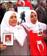 Mothers of killed Turkish soldiers