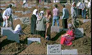 Algerian mourners