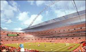 Drawing of new stadium