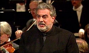 Placido Domingo helps launch the new-look venue