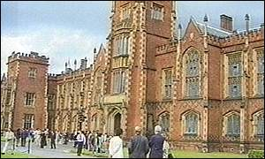Degrees will be awarded by Queen's University in Belfast