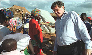 Richard Holbrooke in Angola