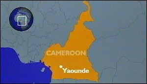 image: [ Chaos as fuel train exploded near the Cameroonian capital ]