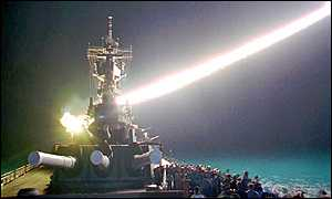 image: [ The cruise missiles of today are more accurate than in 1991. ]